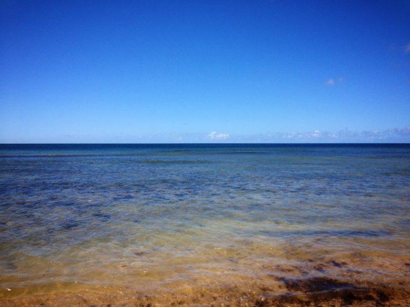 ワイアルアのビーチ