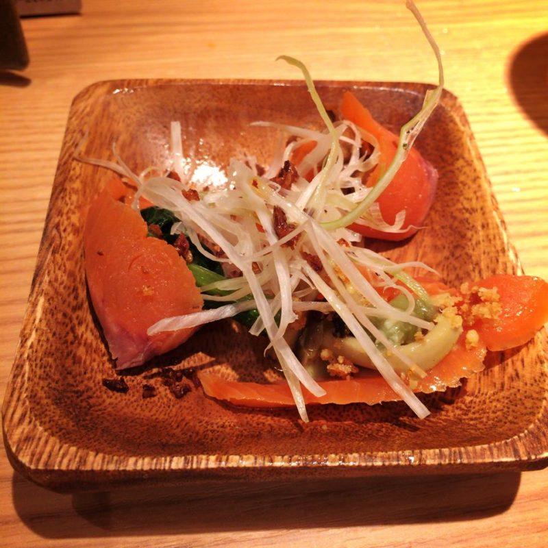 太陽のトマト麺のおつまみ