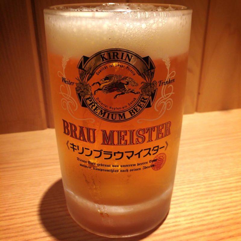 太陽のトマト麺の生ビール